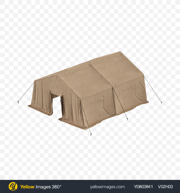 Download Military Tent Transparent PNG on Yellow Images 360°
