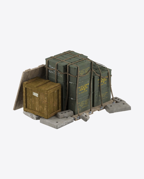 Army Supply Boxes