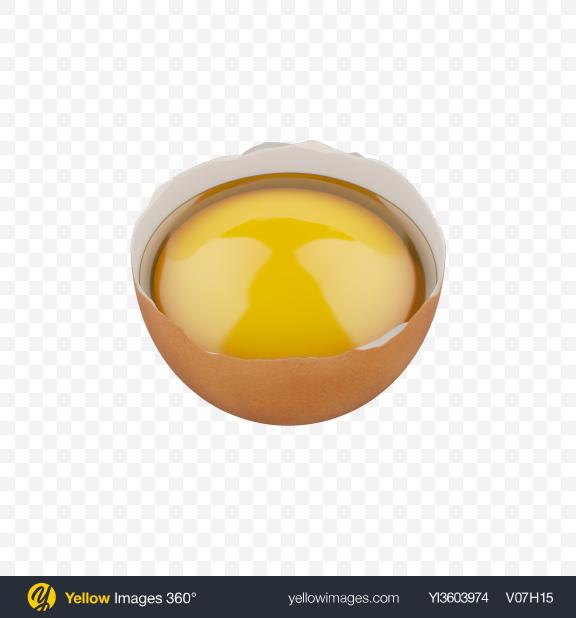 Download Half of Raw Egg Transparent PNG on PNG Images