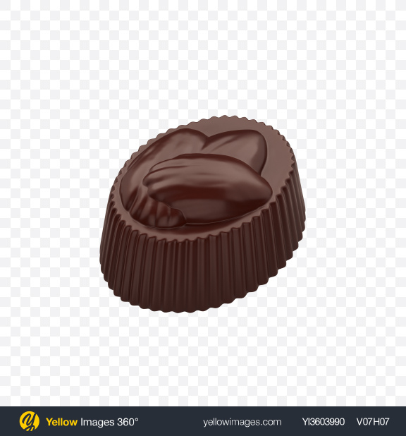 Download Dark Chocolate Candy Transparent PNG on YELLOW Images