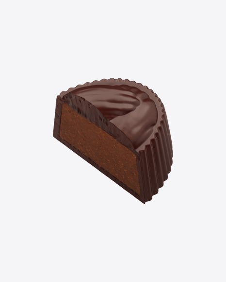 Half of Dark Chocolate Candy