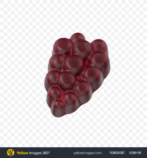 Download Gummy Grape Transparent PNG on Yellow Images 360°