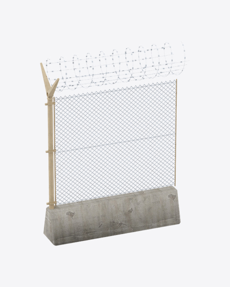 Military Fence Section