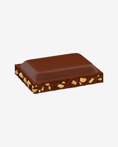 Milk Chocolate Piece with Nuts