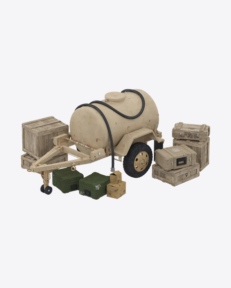 Military Water Tank Trailer