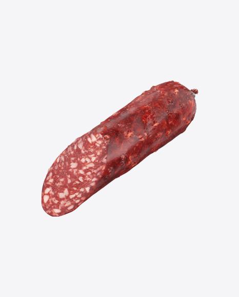 Half of Salami Sausage
