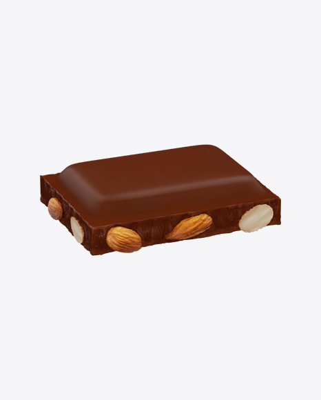 Milk Chocolate Piece with Almonds