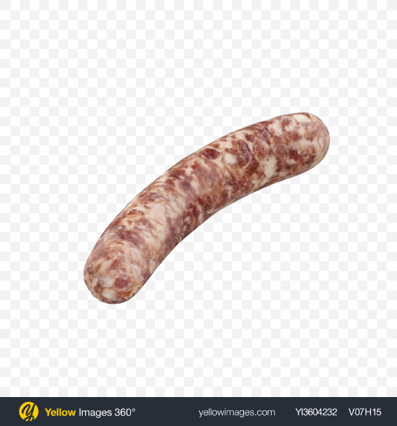 Download Raw Sausage Transparent PNG on Yellow Images 360°