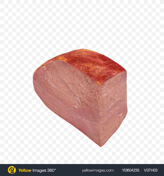 Download Cold Boiled Pork Transparent PNG on Yellow Images 360°
