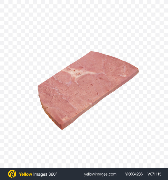 Download Cold Boiled Pork Slice Transparent PNG on Yellow Images 360°
