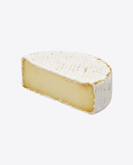 Half of Brie Cheese