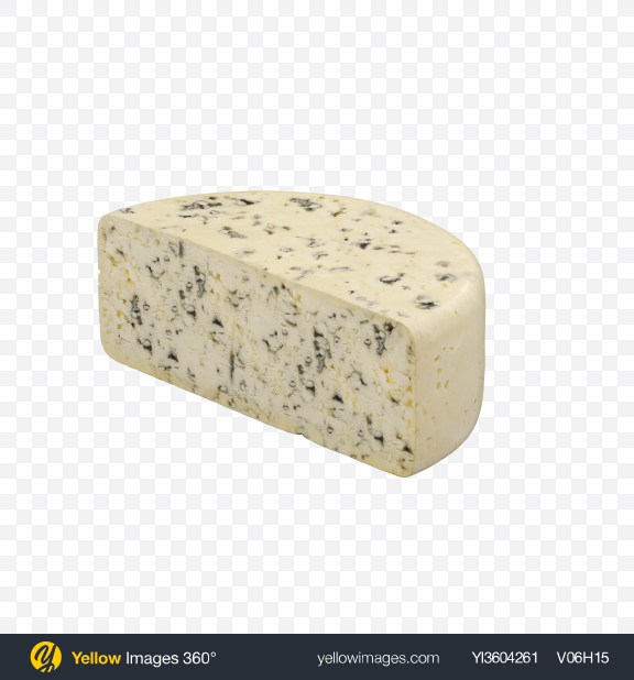Download Half of Blue Cheese Transparent PNG on Yellow Images 360°