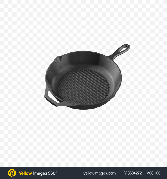 Download Cast Iron Grill Pan Transparent PNG on PNG Images