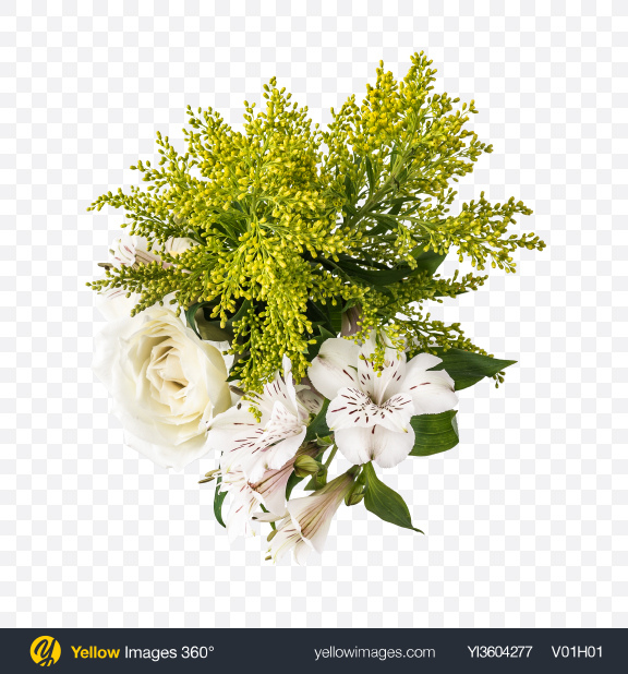 Download Flower Bouquet Transparent PNG on YELLOW Images