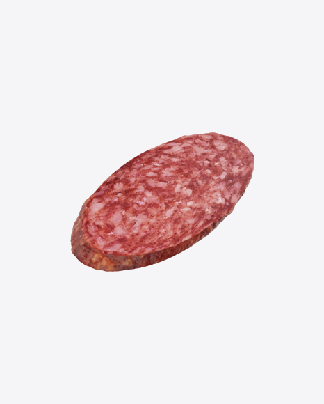 Dry Cured Sausage Slice
