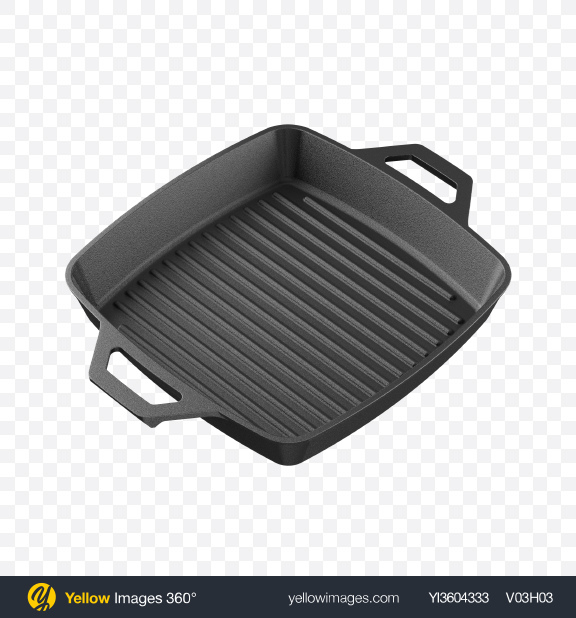 Download Square Cast Iron Grill Pan Transparent PNG on PNG Images