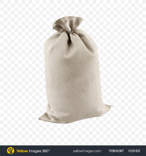 Download Fabric Sack Transparent PNG on YELLOW Images