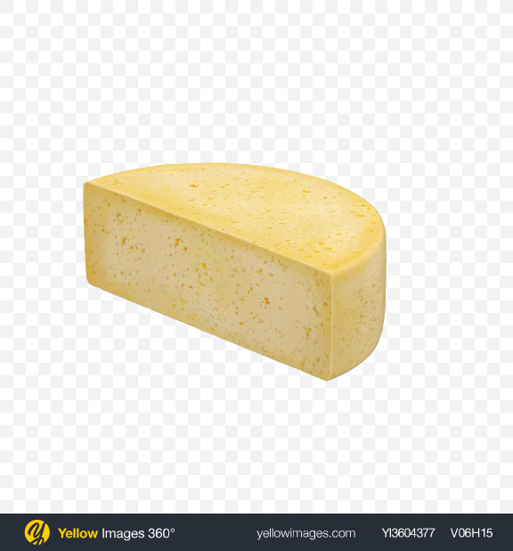 Download Half of Havarti Cheese Transparent PNG on Yellow Images 360°