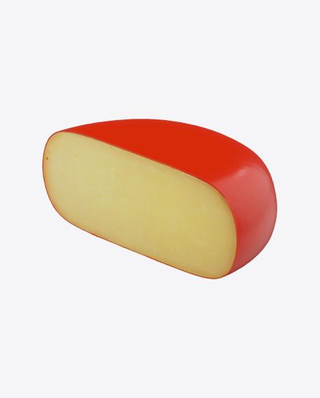 Half of Gouda Cheese