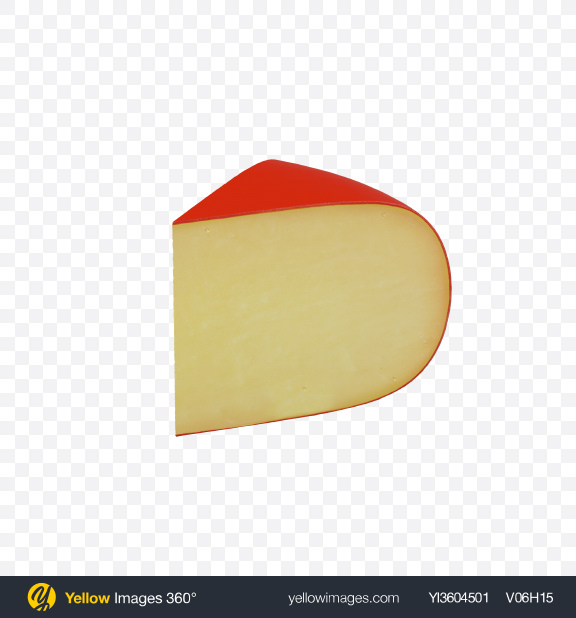 Download Gouda Cheese Triangle Transparent PNG on Yellow Images 360°