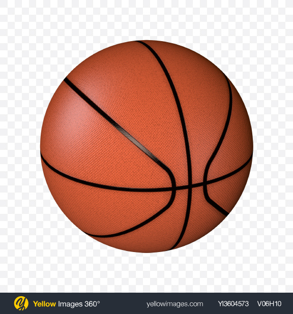 Download Basketball Ball Transparent PNG on Yellow Images 360°