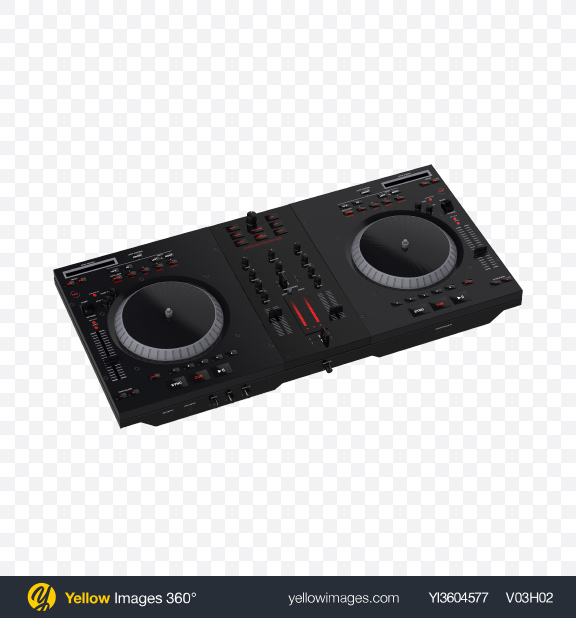 Download DJ Decks Transparent PNG on YELLOW Images
