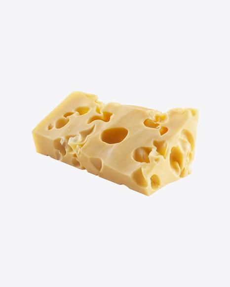 Maasdam Cheese Piece