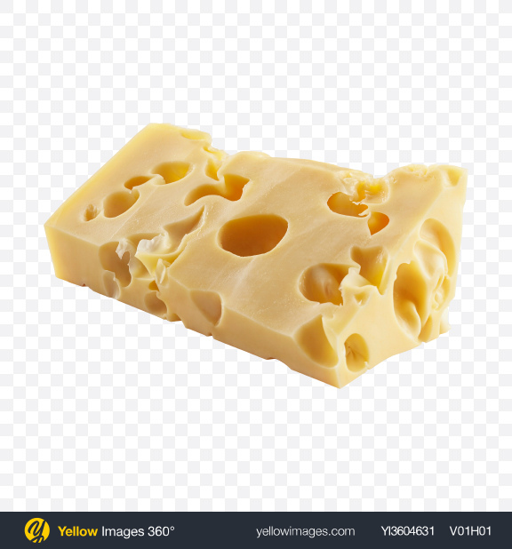 Download Maasdam Cheese Piece Transparent PNG on YELLOW Images