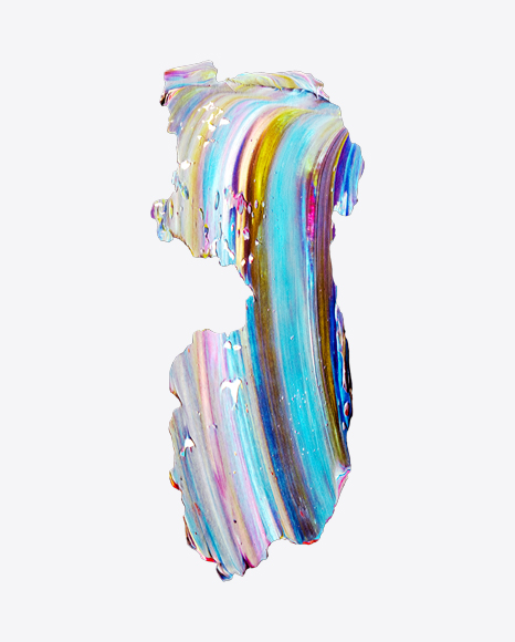 Colored Paint Stroke