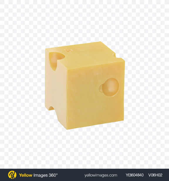 Download Maasdam Cheese Cube Transparent PNG on YELLOW Images