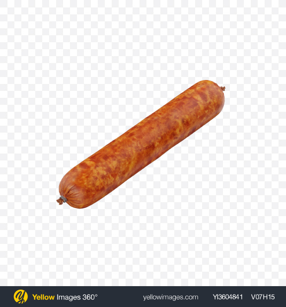 Download Ham Sausage Transparent PNG on Yellow Images 360°