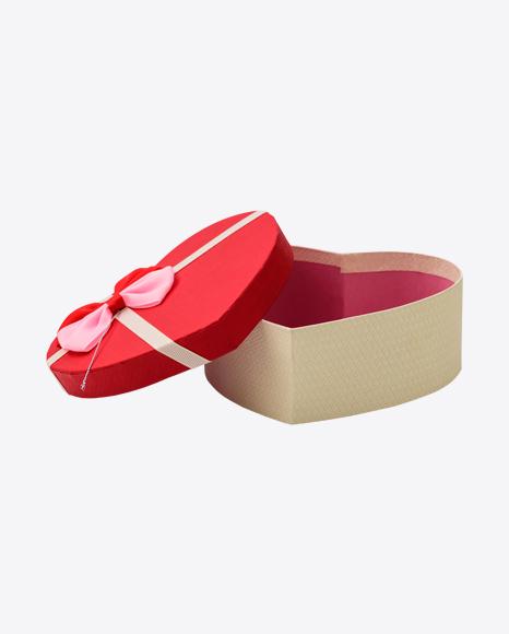 Heart-Shaped Goft Box