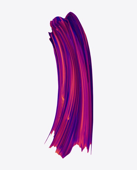 Purple-Blue Paint Stroke