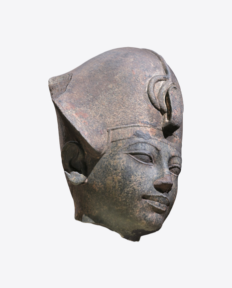 Heaf of Amenhotep Statue
