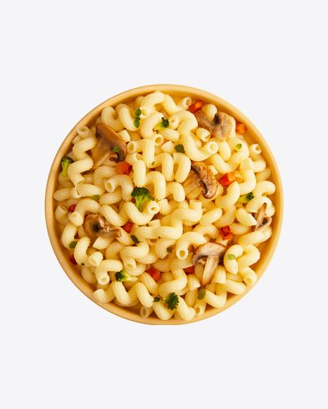 Cavatappi Pasta w/ Mashrooms & Vegetables
