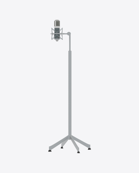 Microphone with Stand