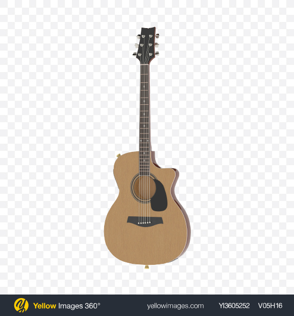 Download Electric Guitar Transparent PNG on Yellow Images 360°