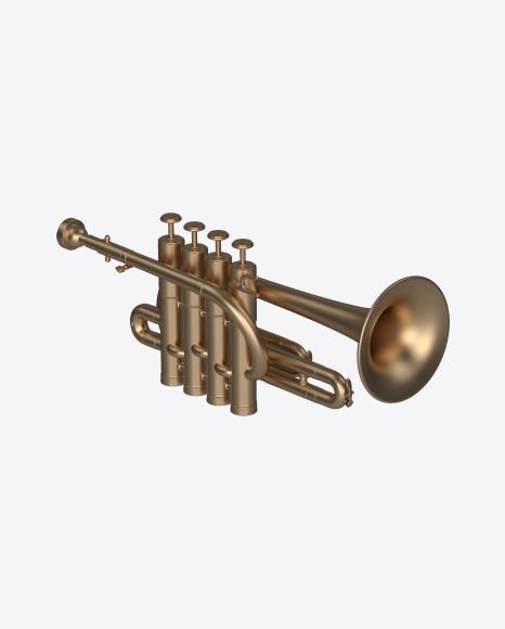 Matte Piccolo Trumpet