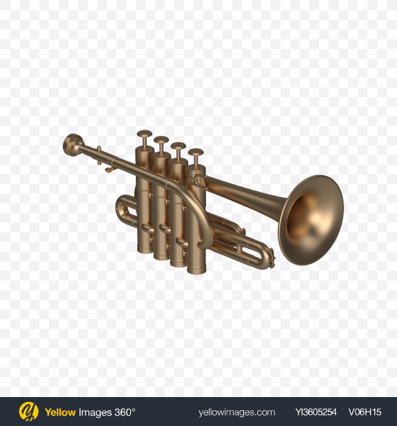 Download Matte Piccolo Trumpet Transparent PNG on PNG Images
