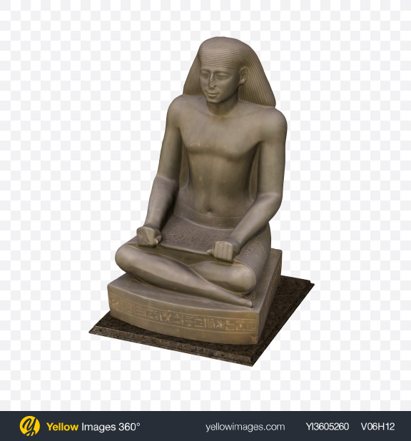Download Egyptian Statue Transparent PNG on YELLOW Images