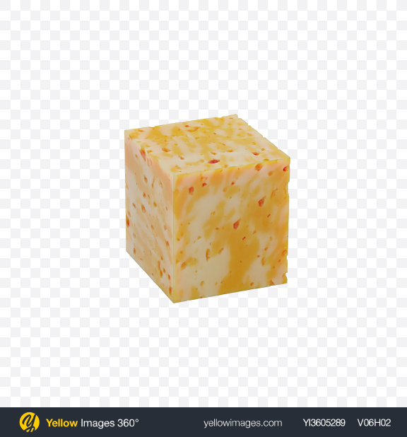 Download Marble Cheese Cube Transparent PNG on Yellow Images 360°