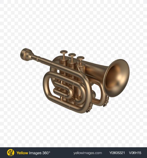 Download Matte Pocket Trumpet Transparent PNG on PNG Images