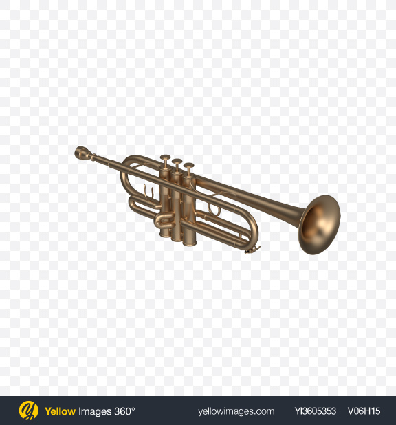 Download Matte Trumpet Transparent PNG on YELLOW Images