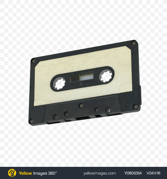 Download Compact Cassette Transparent PNG on YELLOW Images