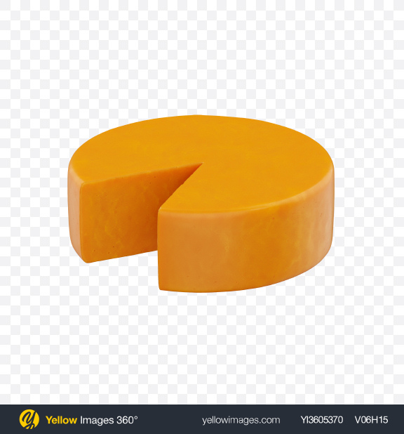 Download Cheddar Cheese Transparent PNG on Yellow Images 360°