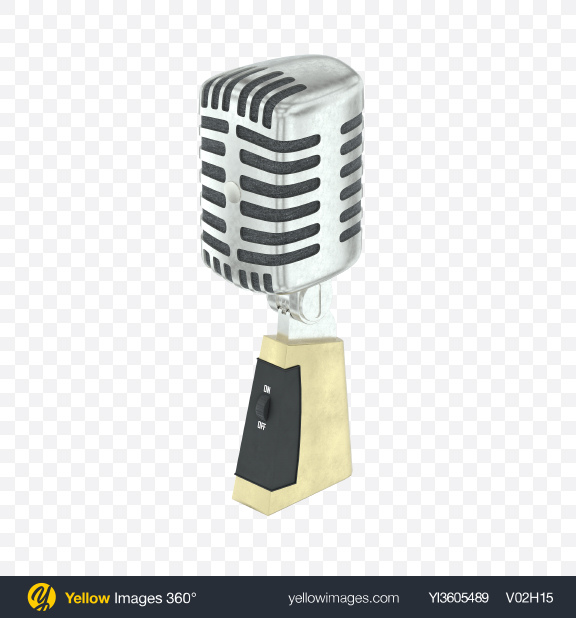 Download Retro Microphone Transparent PNG on PNG Images