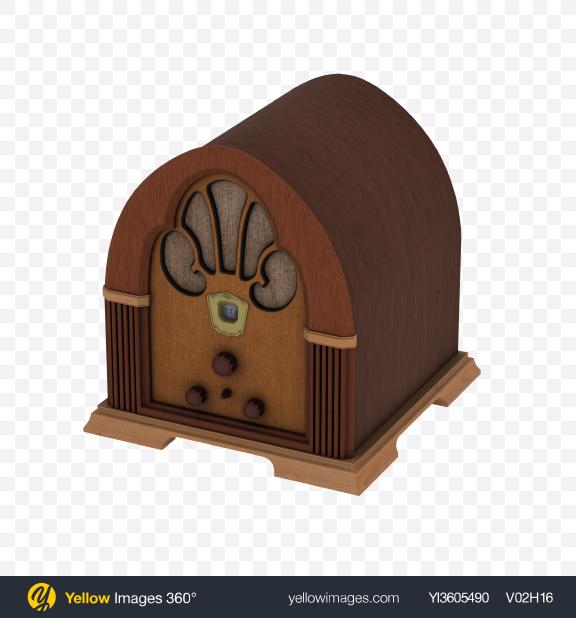 Download Retro Radio Speaker Transparent PNG on PNG Images