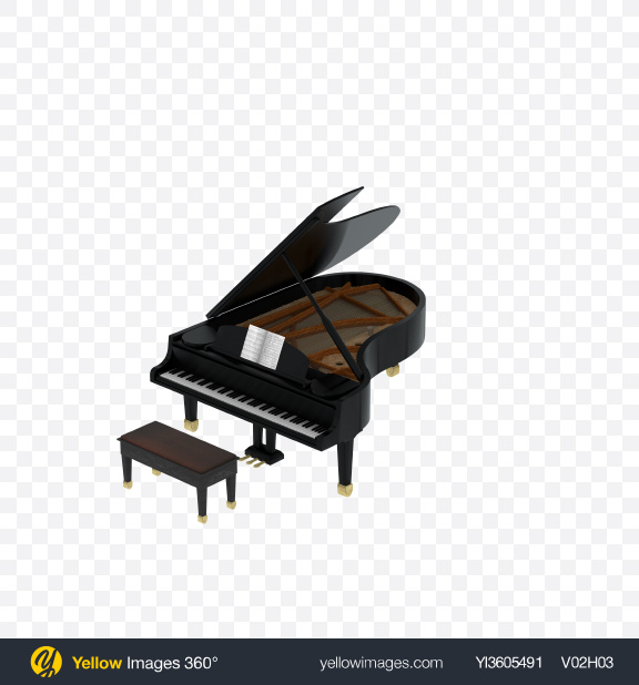 Download Grand Piano Transparent PNG on PNG Images