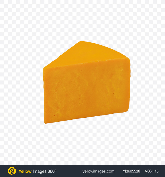 Download Cheddar Cheese Triangle Transparent PNG on Yellow Images 360°