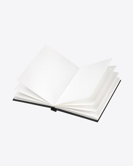 Opened Notebok